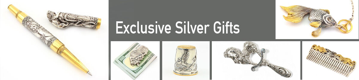 Sribnyk -  Exclusive silver gifts.