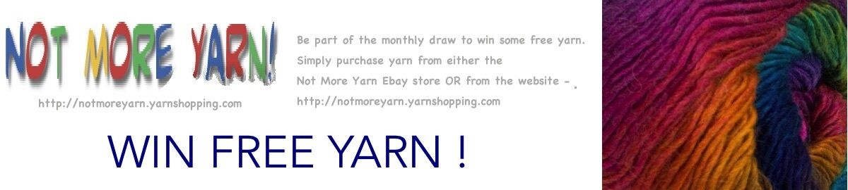 Not more yarn
