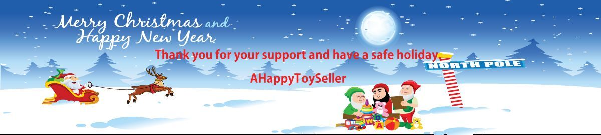 A Happy Toy Seller
