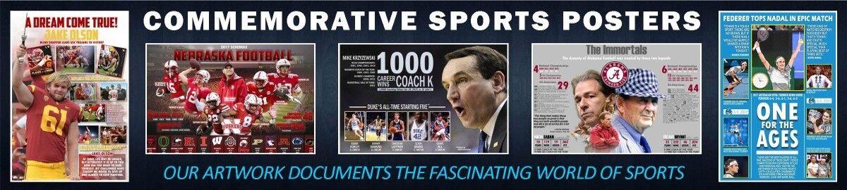 I.M. Commemorative Sports Posters