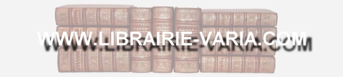 LIBRAIRIE ANCIENNE HUGONNARD-ROCHE