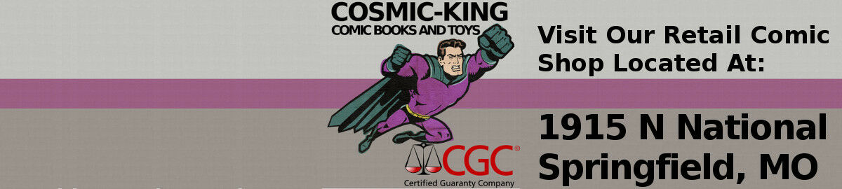 Cosmic king Comic books and more