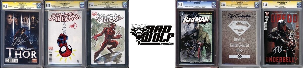 Bad Wolf Comic Collectibles