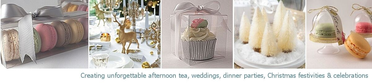 Celebration Tables & Cupcake Boxes