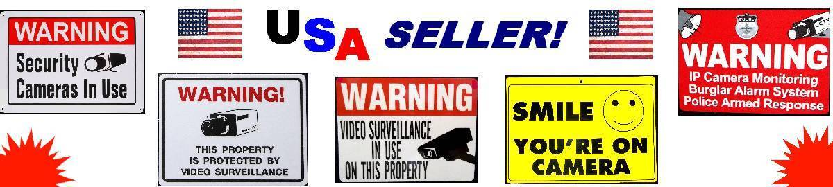 SECURITY SYSTEM SIGNS