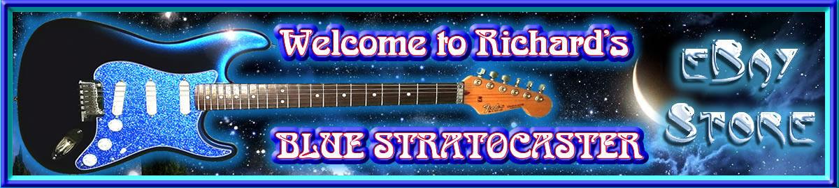 Richard's Blue Stratocaster Store