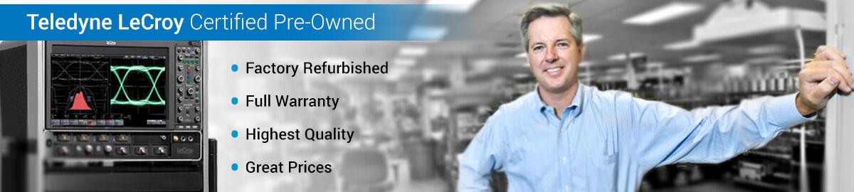 Teledyne LeCroy Certified Pre-Owned