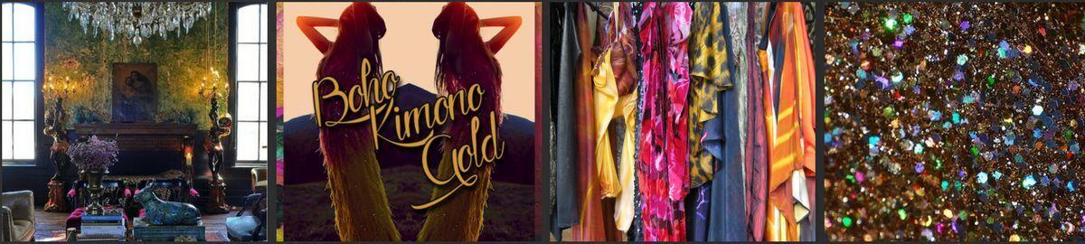 Boho Kimono GOLD
