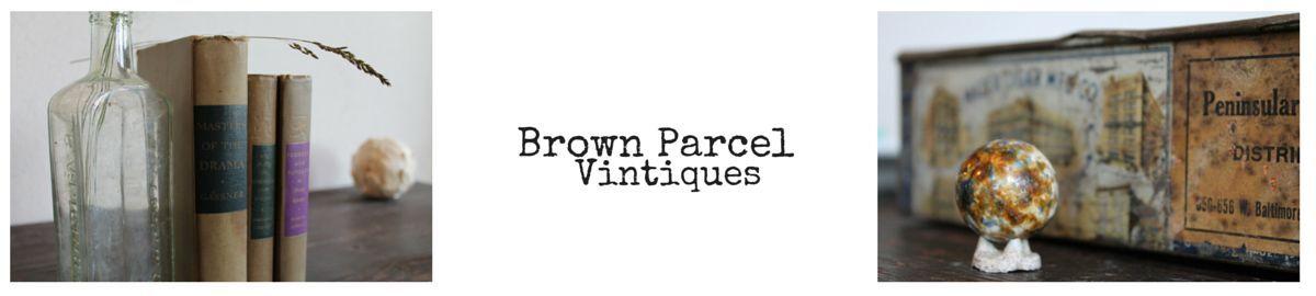 Brown Parcel Vintiques