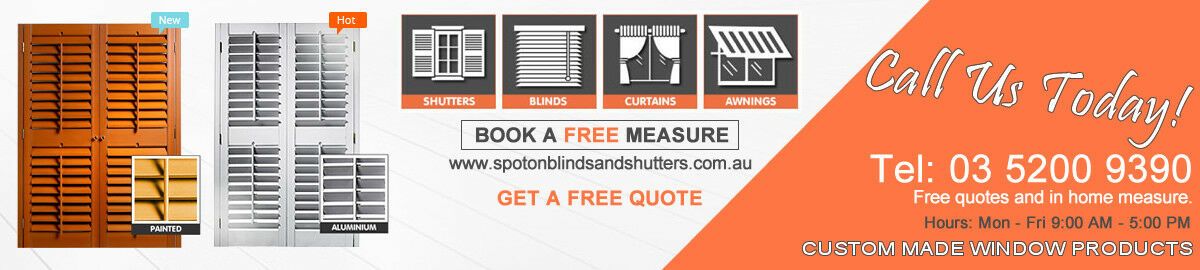 Spot On Blinds And Shutters