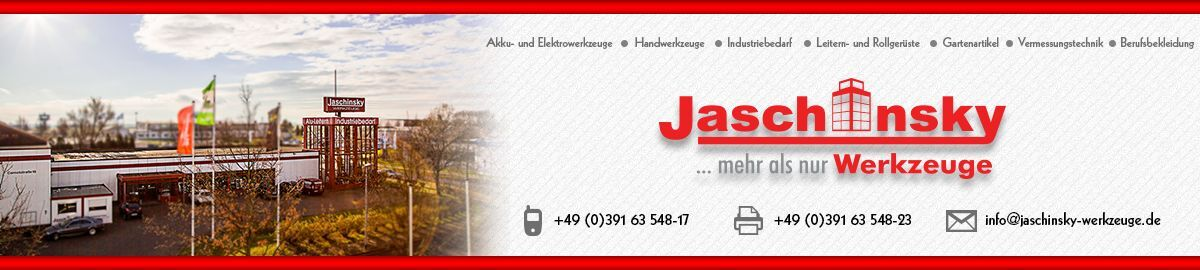 Jaschinsky Werkzeuge