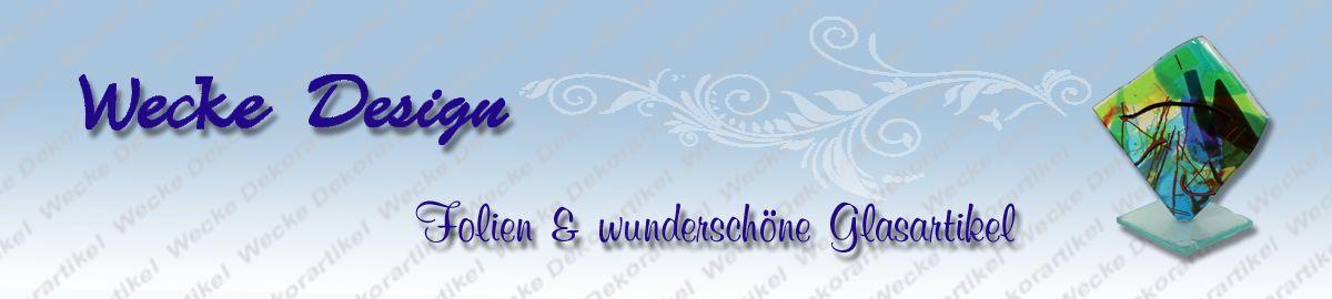 Wecke Design Folien Glasartikel
