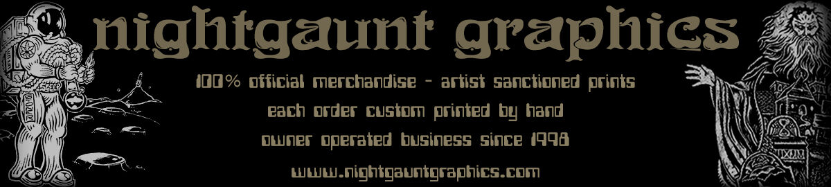 nightgaunt graphics t shirts