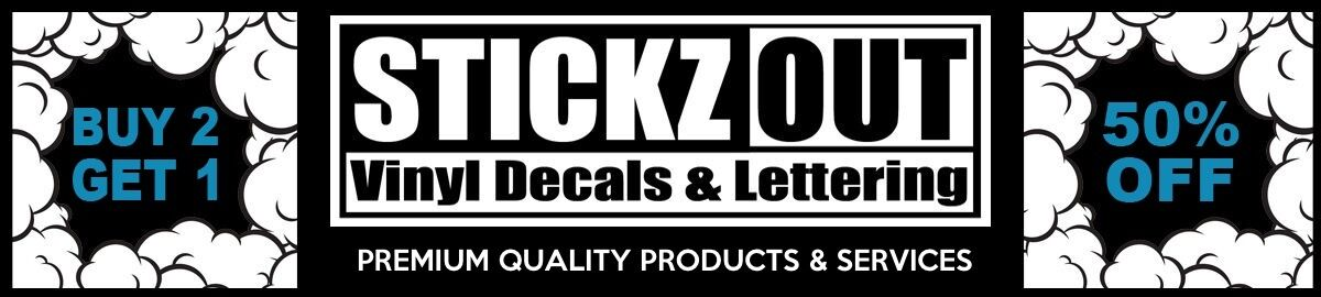 Stickz Out Vinyl Decals & Lettering