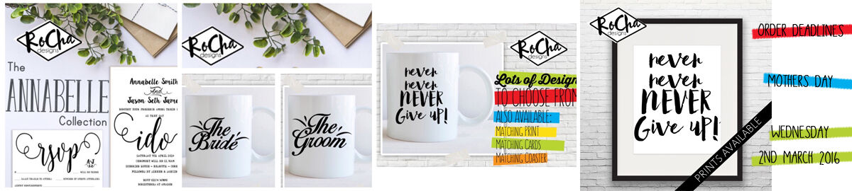 RoChaDesigns - Personalised Gifts