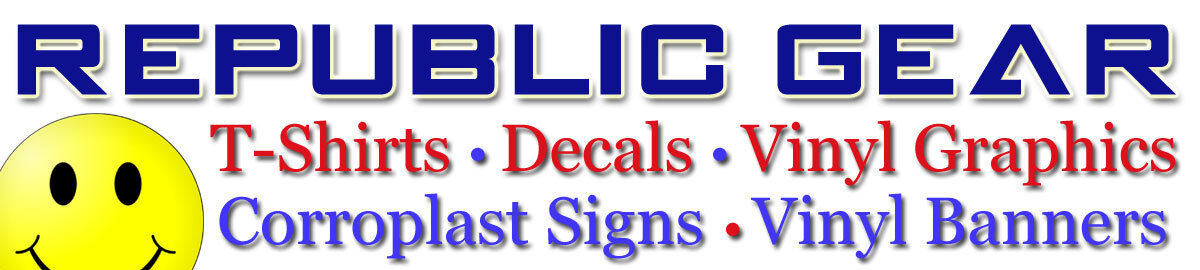 Republic Gear Shirts and Decals