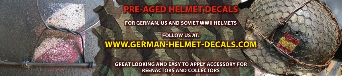 German Helmet Decals