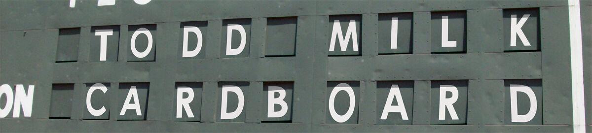 Todd Milk Cardboard