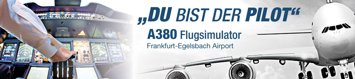 A380 Flugsimulator