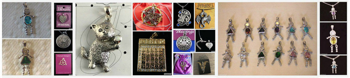 Number Pendants and Charms