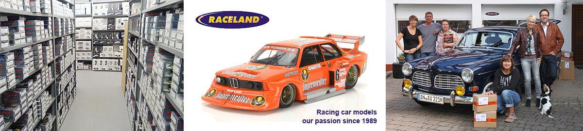 Raceland Modellautos und Motorsport