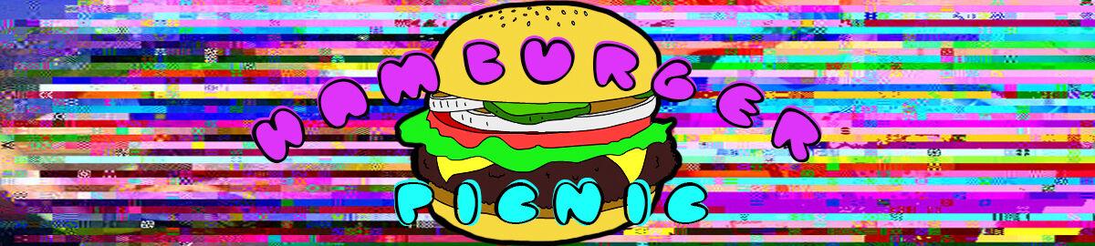 Hamburger Picnic Vintage