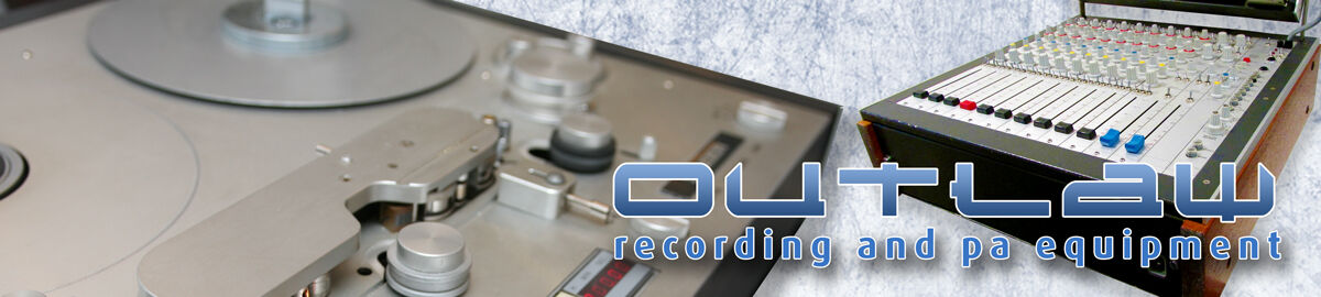Outlaw-recording-and-pa-equipment