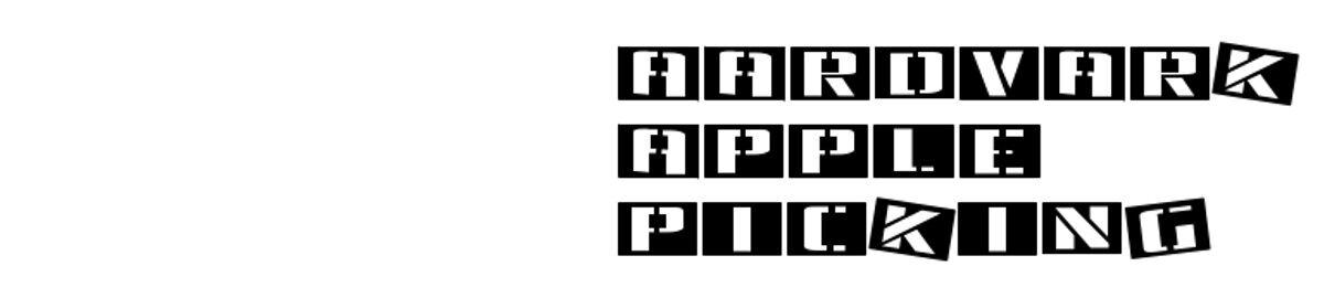 Aardvark Apple Picking