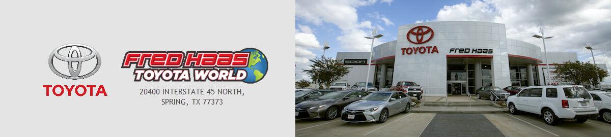 Fred Haas Toyota World