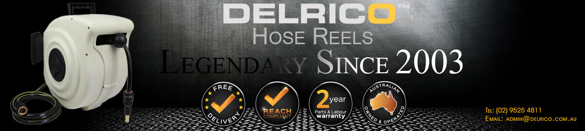 DELRICO Hose Reels