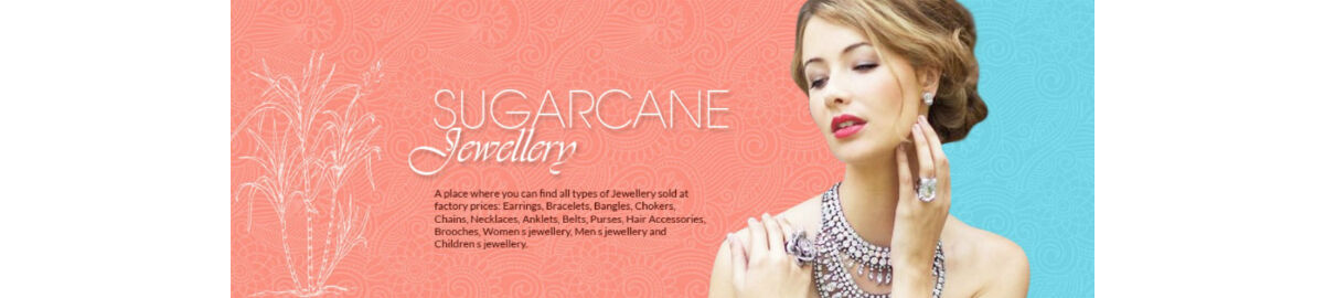 Sugarcane jewellery
