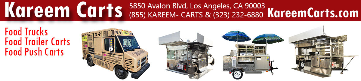 Kareem Carts Food Trucks Builder