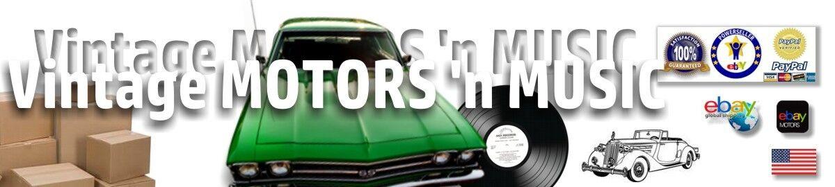 Vintage MOTORS 'n MUSIC