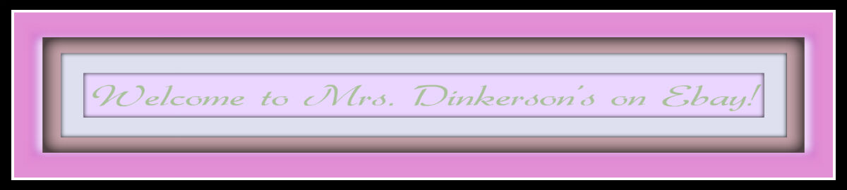 Mrs Dinkerson's