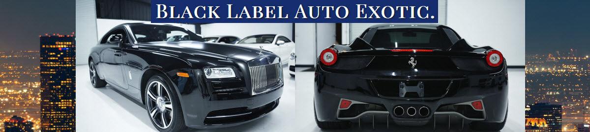 Black Label Auto Exotic