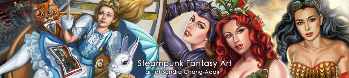 Steampunk Fantasy Art