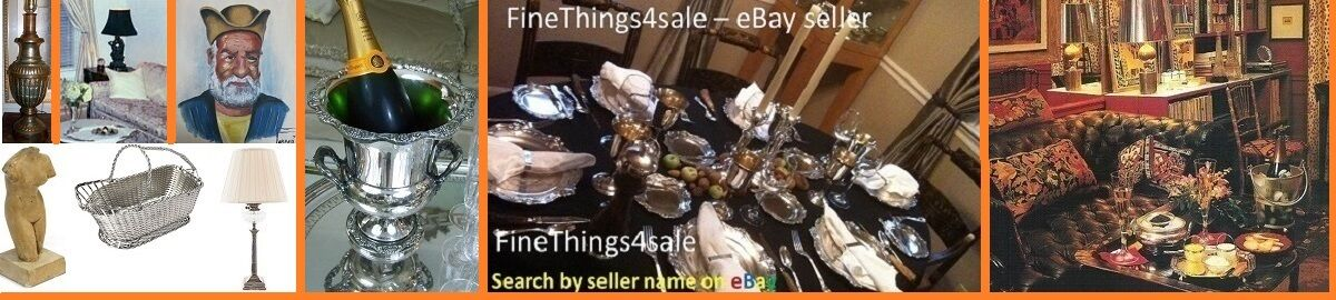FineThings4sale - best on eBay