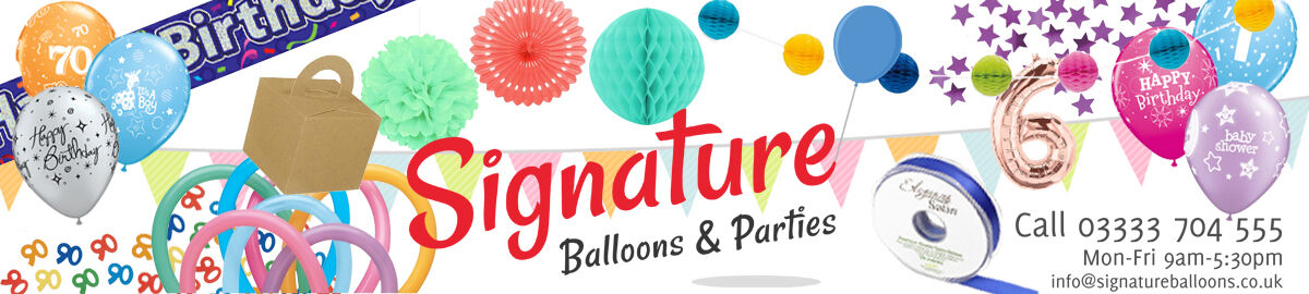 Signature Balloons & Parties