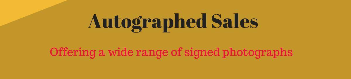 Autographed Sales