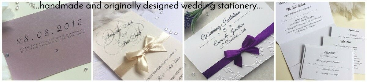 Lavender Avenue Wedding Invitations