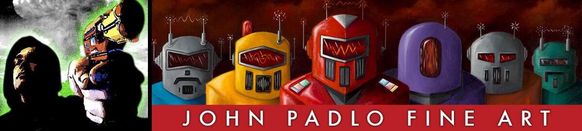 John Padlo Retro Toy Artwork