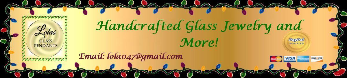 Lolas Glass Pendants