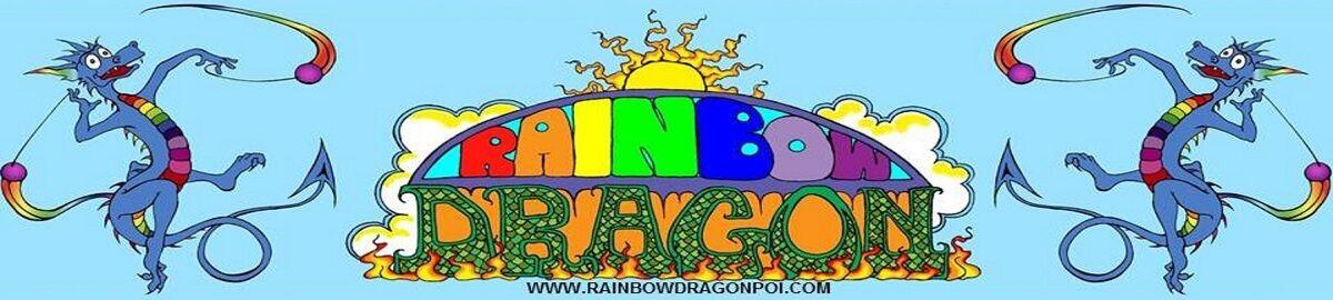 Rainbow Dragon Poi