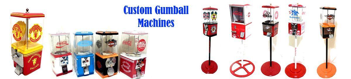 Custom Gumball Machines