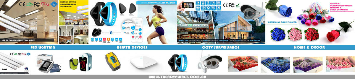 Trendy Planet LED CCTV Health Store