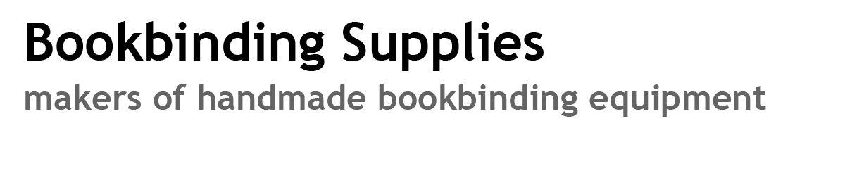 Bookbinding Supplies