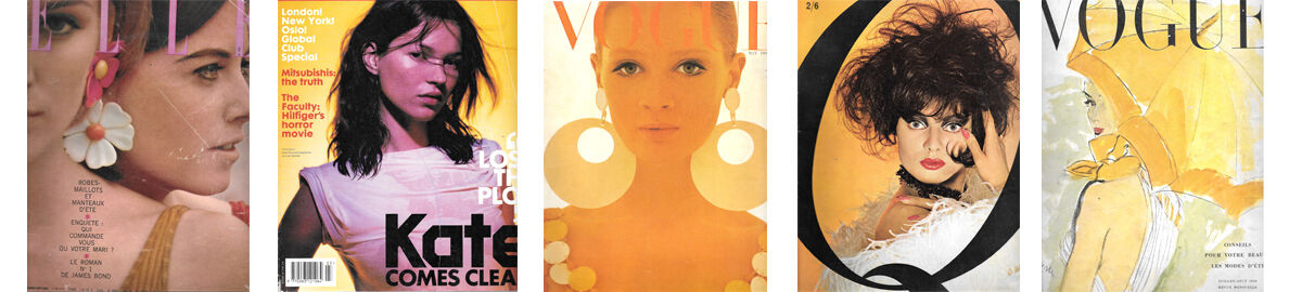 Vintage Vogue and Fashion in Print