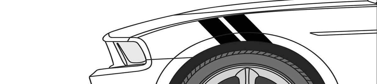 Krieger Graphics Racing Stripes