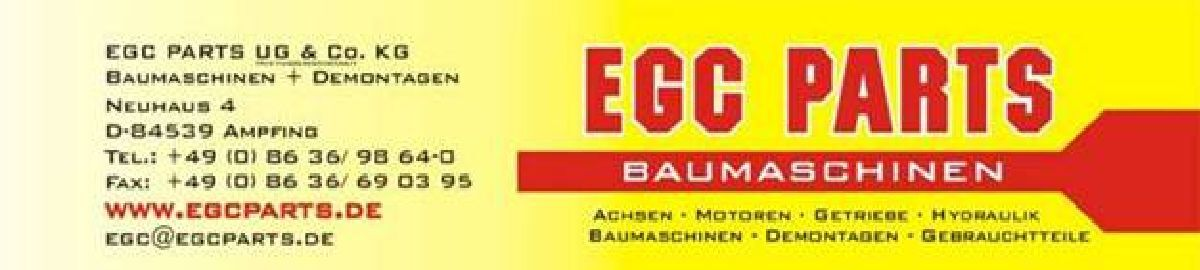 EGC PARTS  Baumaschinen+Demontagen