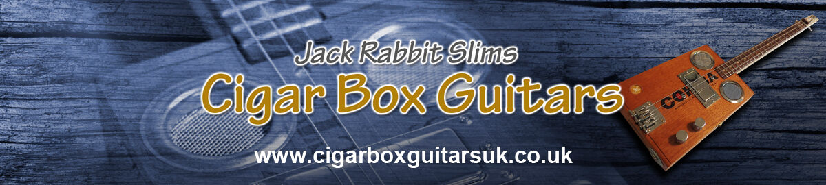 Jack Rabbit Slims Cigar Box Guitars